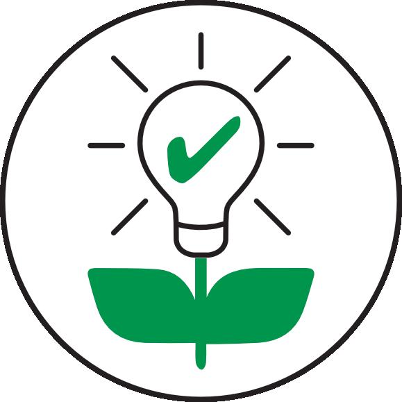 ECOCAMPING Icon - Energieeffizienz