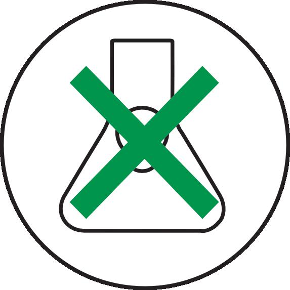 ECOCAMPING Icon - Schadstoffe vermeiden