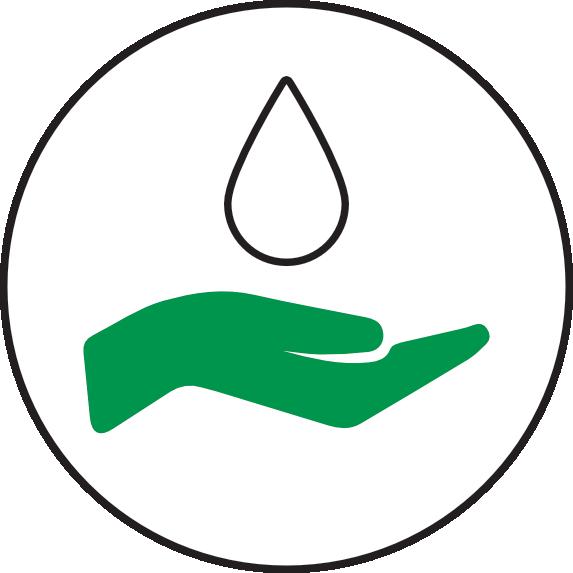 ECOCAMPING Icon - Wasserqualität