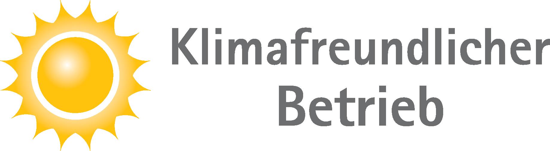 Klimafreundlicher Betrieb - Titel